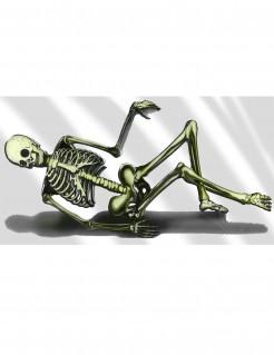 Halloween-Dekoration Sofa-Skelett aus Kunststoff 75 x 150 cm