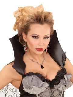 Fledermaus Kette für Halloween mit Anhänger für Damen