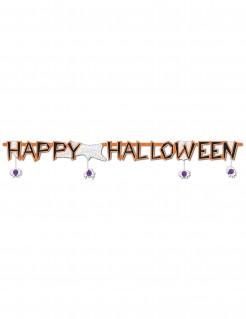 Happy Halloween Party-Girlande bunt 183x15cm