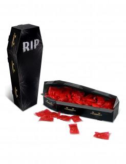 Vampirsarg RIP Halloween-Tischdeko schwarz 25x4,4cm