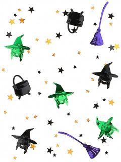 Hexen-Konfetti Halloween-Streudeko bunt 14g