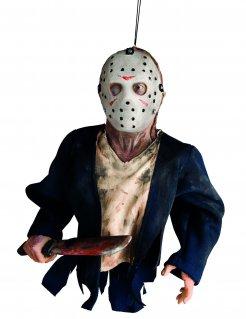 Jason Vorhees Freitag der 13. Halloween-Hängedeko Lizenzprodukt bunt 40 cm