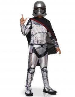 Captain Phasma™-Kinderkostüm Star Wars™ grau-schwarz