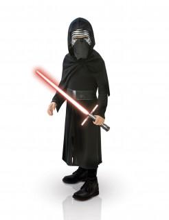 Kylo Ren™-Kinderkostüm Star Wars VII™ mit Laserschwert schwarz