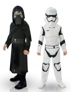 Star Wars™ Kostümset für Kinder Keylo Ren Stromtrooper Lizenzware schwarz-weiss