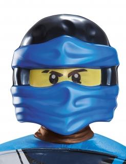 Jay-Ninjago™-Maske Halloween blau