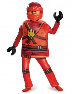 Kai-Kostüm Ninjago™ Lego™Halloween rot