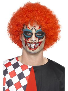 Horror Clown Make-up Kit Halloween-Schminke bunt