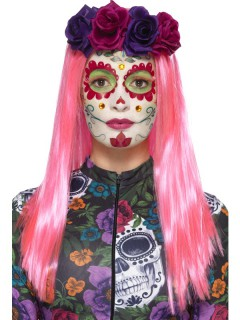 Dia de los Muertos Schmink-Set Halloween Make-up bunt