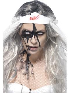 Zombie-Kunstblut Halloween-Accessoire schwarz 29,5ml