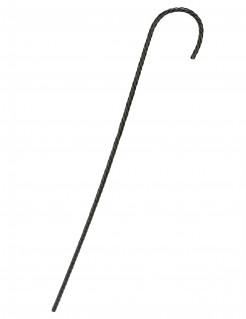 Gehstock für Erwachsene Dandy Kostüm-Accessoire schwarz 77 cm