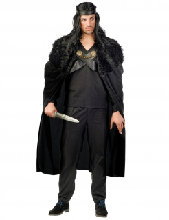 Wächter des Winters Kostüm für Herren Halloweenkostüm schwarz