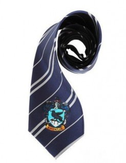 Harry Potter™ Ravenclaw Krawatte Kostüm-Accessoire bunt 150cm