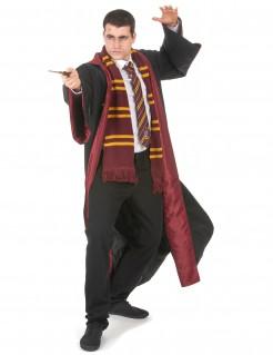 Harry Potter™ Gryffindor Robe Halloween Kostüm für Herren schwarz-rot
