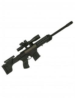 Spielzeug-Maschinengewehr mit Sound für Kinder schwarz 50 cm