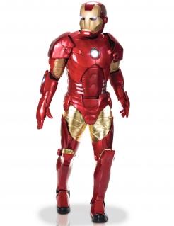 Iron Man™-Deluxekostüm für Erwachsene rot-goldfarben