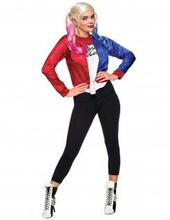 Suicide Squad™ Harley Quinn Halloween Kostüm für Damen bunt