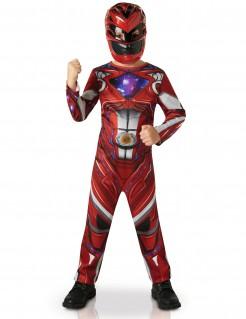 Power Rangers™-Kinderkostüm rot-grau