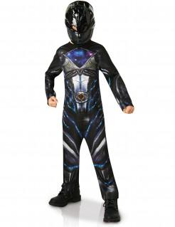 Power Ranger™-Kinderkostüm Halloweenkostüm schwarz-lila