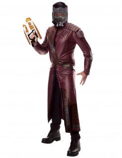 Star-Lord™-Lizenzkostüm für Herren rot-braun-grau