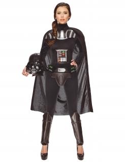 Darth Vader™ Deluxe Damenkostüm schwarz