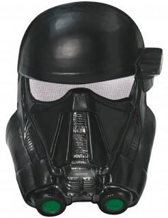 Death Trooper™-Halbmaske Star Wars™-Lizenzartikel schwarz