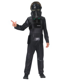 Star Wars Rogue One™ Death Trooper Deluxe Kinderkostüm Lizenzware schwarz