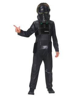 Star Wars Rogue One™ Death Trooper Deluxe Teenkostüm Lizenzware schwarz