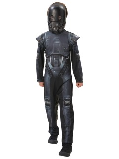 Star Wars Rogue One™ K-2SO Teenkostüm Lizenzware schwarz