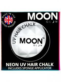 UV-Haarkreide von Moonglow© weiß 3,5g