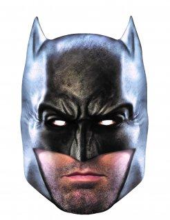 Batman™-Pappmaske Lizenzartikel schwarz