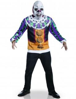 Pennywise Horror-Clown ES Halloween-Herrenkostüm Lizenzartikel bunt