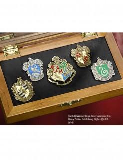 Nachbildung der Anstecker von Hogwarts Harry Potter bunt