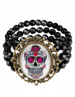 Armband Tag der Toten Gothic Schmuck bunt