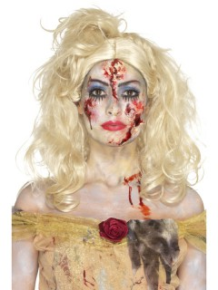 Zombiebraut Make-up-Set Schmink-Set Halloween