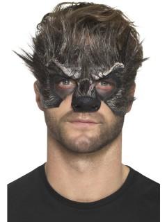 LatWerwolf-Latexschaum Prothese Halloween schwarz-grau