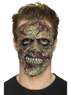Zombie-Latexschaum Prothese Halloween bunt