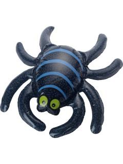 Aufblasbare Spinne Halloween-Accessoire schwarz-bunt 34x44cm
