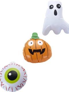 Halloween-Ballonset 3-teilig bunt 15cm