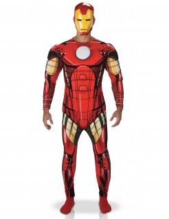 Iron Man™-Kostüm für Herren bunt