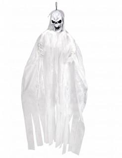 Dekogeist Totengeist-Halloweendeko weiss-schwarz 150cm