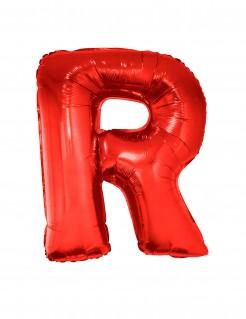 Buchstaben-Folienballon Luftballon R rot 102cm