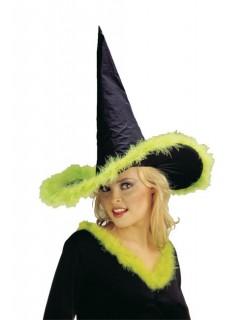 Marabou Hexenhut schwarz-grün