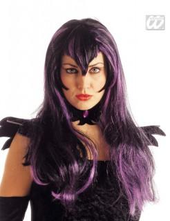 Gothic-Perücke Nightmare Vamp violett