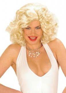 Diva-Damenperücke Starlet blond