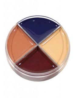Make Up Dose Wunde mit 4 Farben bunt 14g