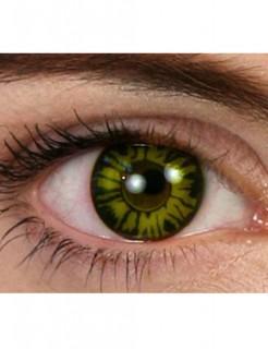 Kontaktlinsen Werwolf grün-schwarz