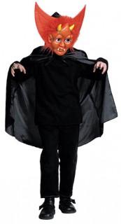 Teufel Kinderkostüm schwarz-rot