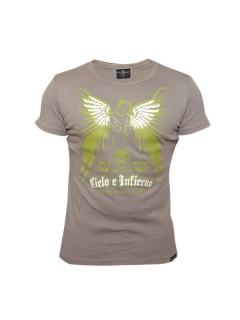 Tollwut Streetwear T-Shirt 'OVERDRIVE' beige