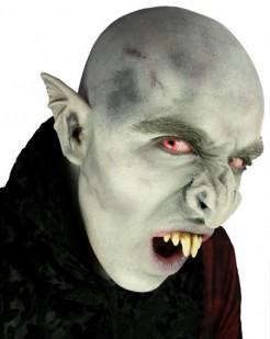 Vampirnase Kostümaccessoire grau-grün